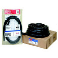 HBD Thermoid 1827 3/4 Inch By 50 Foot Black Heater Hose