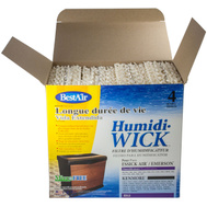 Best Air ES12-2/ES12 Humidi Wick Humidifier Wick Filter For Emerson Humidifier Extended Life 4 Pack.