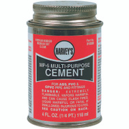 William Harvey 018000-24 MP6 Cement Multi-Purpose 4 Ounce