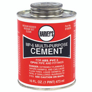 William Harvey 018020-12 MP6 Cement Multi-Purpose 16 Ounce