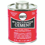 William Harvey 018030-12 MP6 Cement Multi-Purpose 32 Ounce