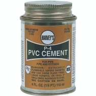 William Harvey 018100-24 Pvc Cement Regular 4 Ounce
