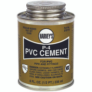 William Harvey 018110-24 Pvc Cement Regular 8 Ounce