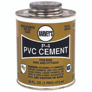 William Harvey 018120-12 Pvc Cement Regular 16 Ounce