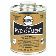 William Harvey 018130-12 Pvc Cement Regular 32 Ounce