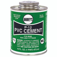William Harvey 018220-12 Pvc Cement Heavy Body 16 Ounce