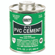 William Harvey 018230-12 Pvc Cement Heavy Body 32 Ounce