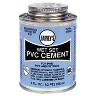 William Harvey 018410-24 Pvc Cement Wet Set Blue 8 Ounce