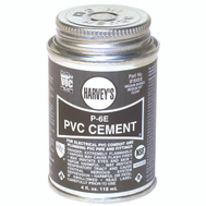 William Harvey 018450-12 Pvc Cement Elec Clear 4 Ounce