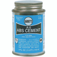 William Harvey 018500-24 Cement Abs Black 4 Ounce