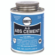 William Harvey 018510-24 Cement Abs Black 8 Ounce