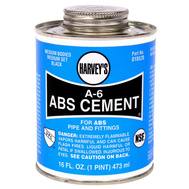 William Harvey 018520-12 Cement Abs Black 16 Ounce