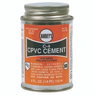 William Harvey 018700-24 Cpvc Cement Orange 4 Oz