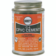 William Harvey 018720-12 Cpvc Cement Orange 16 Oz