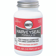 William Harvey 025050 Harvey Seal Yellow Gas Thrd 8 Ounce