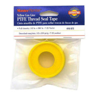 Oatey 017067 Master Plumber 1/2 By 260 Inch Yellow PTFE Gas Tape