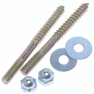 William Harvey 061095 5/16 By 3 1/2 Flange Screw Set