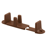 Prime Line N7384 164488 Brown Bypass Door Guide