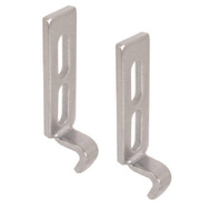 Prime Line E2054 151955 Sliding Glass Door Keepers 2 Pack
