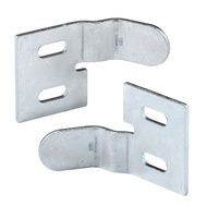Prime Line N6538 161083 Bi-Fold Door Aligner Brass Finish Pair