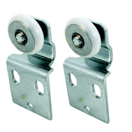 Prime Line N6516 16202F Bypass Door Front Single Wheel Rollers 2 Pack