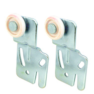 Prime Line N6500 16216F Bypass Door Front Rollers 2 Pack