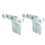 Prime Line N6502 16218F Bypass Door Front Rollers 2 Pack