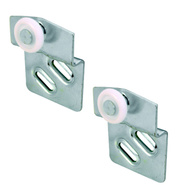 Prime Line N6668 161988 Bypass Back Roller Single Wheel Side Mounting 2 Pack