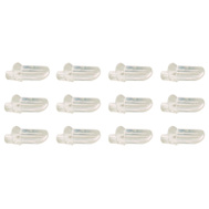 Prime Line U9256 242155 Clear Shelf Support Pegs 12 Pack