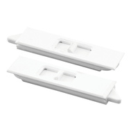 Prime Line F2734 173963W Pair White Window Tilt Latch