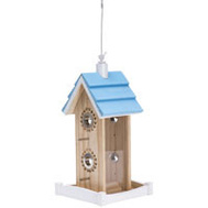 Woodstream 50182 Perky Pet Birdfeeder Wood House 2 Pound