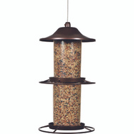 Perky Pet 325S 4-1/2 Pound Panorama Metal Bird Feeder