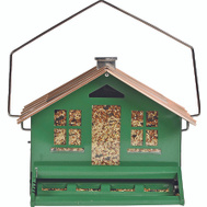 Perky Pet 339 Feeder Squirrel Proof Green