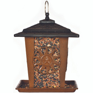 Perky Pet 370 Feeder Bird Lantern Star & Sun