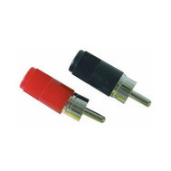 Audiovox AH16R 2 Pack RCA Male Phonograph Plug