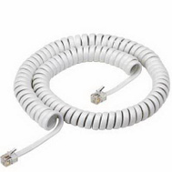 Audiovox TP280WR 12 Foot White Handset Cord