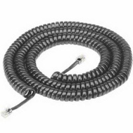 Audiovox TP282BLR 25 Foot Black Handset Cord