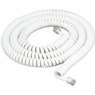 Audiovox TP282WR 25 Foot White Handset Cord