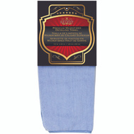 SM Arnold 25-859 Heavy Plush Microfiber Towel With Piped Edging Blue