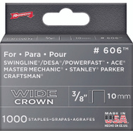 Arrow Fastener 60630 3/8 Inch Wide Crown Heavy Duty Staples