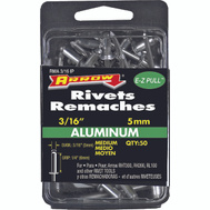 Arrow Fastener RMA3/16IP 1/8 By 1/4 Inch Medium Aluminum Rivet