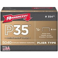 Arrow Fastener 354 Staple For P35 1/4 Inch