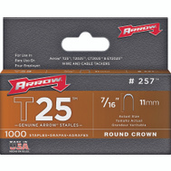 Arrow Fastener 257 7/16 Inch Staples