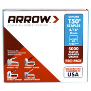 Arrow Fastener 505IP 5/16 Inch T50 Staple
