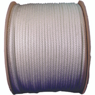 Lehigh Group 10124 8 By 200 Foot Solid Braided Nylon Rope