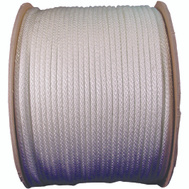 Lehigh Group 10164 12 By 125 Foot Solid Braided Nylon Rope