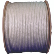 Lehigh Group 10172 12 By 500 Foot Solid Braided Nylon Rope