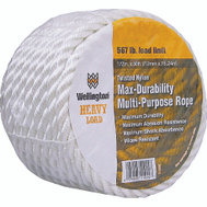 Lehigh Group 11002 1/2 Inch By 50 Foot Twisted Nylon Rope