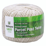 Lehigh Group 14299 300 Foot Medium Weight Parcel Post Cotton Twine