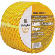 Lehigh Group 15027 Twisted Poly Rope 1/2X50 Yellow